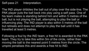 21 Self pass Interp