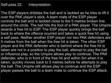 22 Self pass Interp