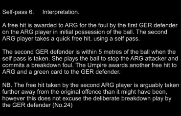 6 Self pass - Interp
